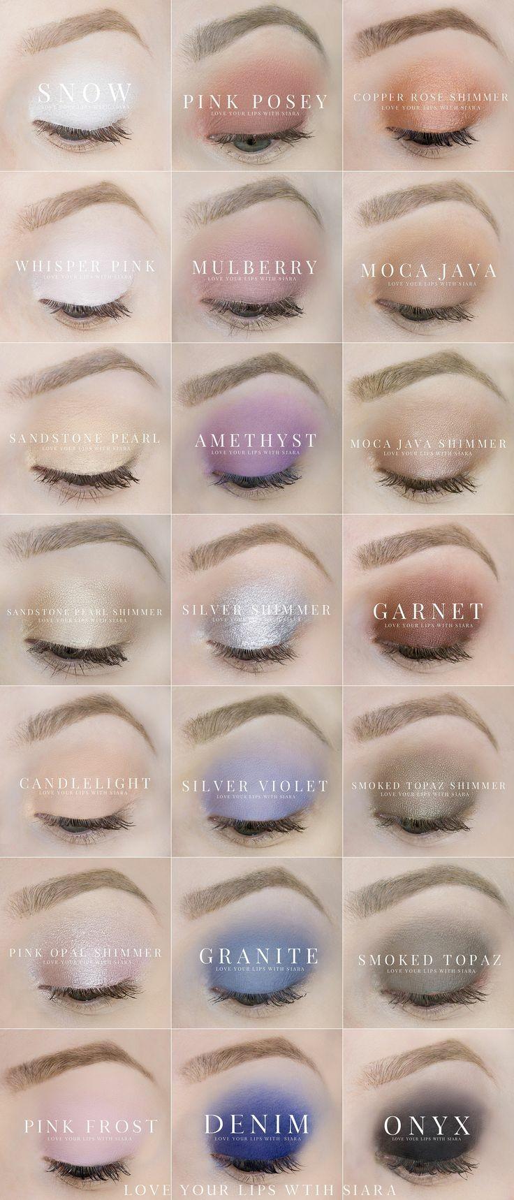 Eyesense colors